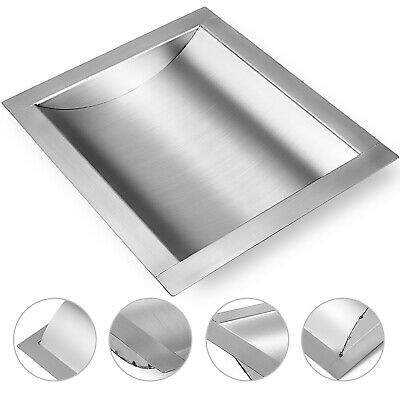 Coin Banknote Counter Tray 30*25cm 304 Stainless Steel Light Cash Money Storage