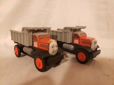 Thomas And Friends Wooden Railway Max And Monty Dump Trucks New