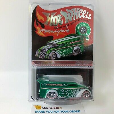 #2607  Drag Dairy Holiday SIGNED * Hot Wheels Redline Club RLC * HA14
