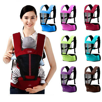 5e29a257206 Baby Kid Toddler Front Hipseat Hip Seat Wrap Carrier Belt Sling Harness  Backpack
