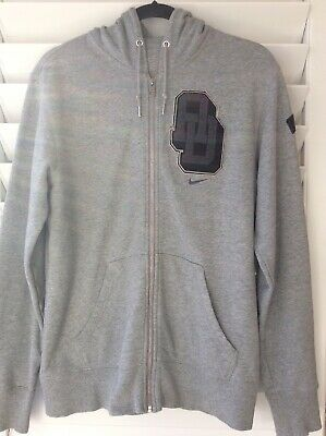 Nike the athletic dept. Mens Hooded Jacket Grey 100% Cotton -Size L