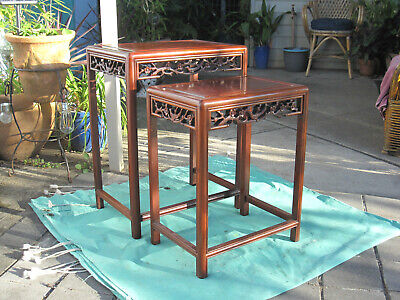 Chinese Rosewood Tables