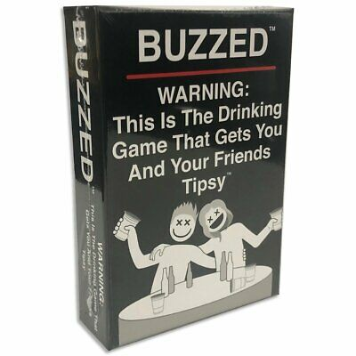 PREORDER Buzzed The Drinking Game That Gets You and Your Friends Tipsy!