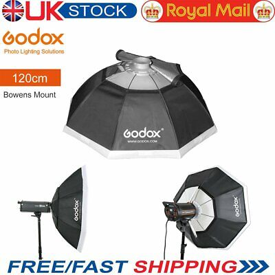 "Godox 48"" 120cm Octagon Softbox Bowens Mount For Photo Studio Strobe【UK】"