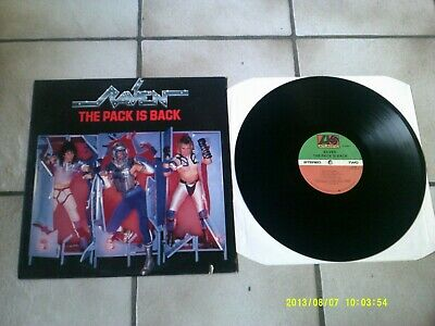 LP Raven - The Pack Is Back
