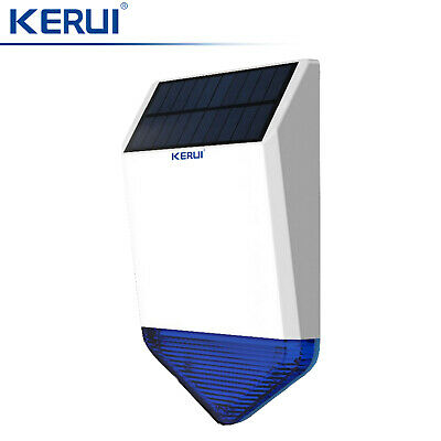 KERUI Waterproof Wireless Huge Outdoor Solar Strobe Siren For Home Alarm System