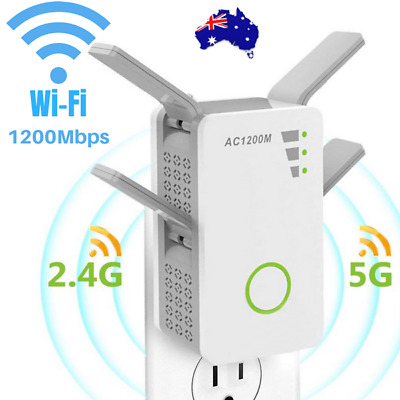 1200Mbps WiFi Wireless Range Extender Repeater Amplifier Router Signal Booster