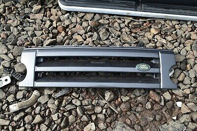 Land Rover Discovery 3 Front Grille & Badge - Bonatti Grey (659)