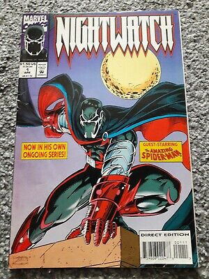 Nightwatch #1 (Marvel, 1994) G, First Print. 1st solo comic for Nightwatch
