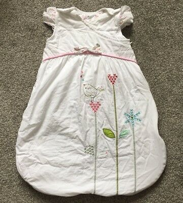 Bizzi Growin Doodles Sleeping Bag 0-6 Months Baby Girl