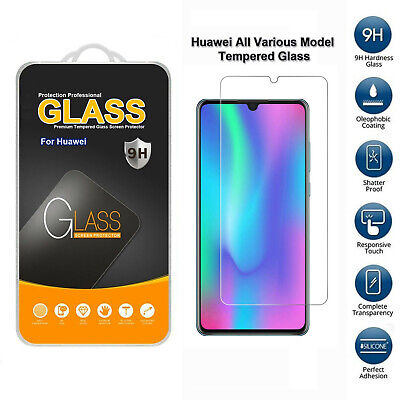 Tempered Glass Mobile Phone Screen Protector For Huawei In All Various Models