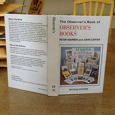 Observers Book Of Observer's Books 99.6