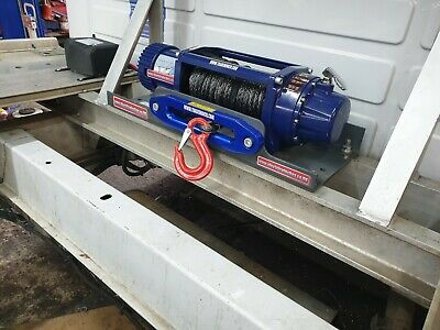 2272kgs Electric Vehicle Truck Boat Mounted Tow Recovery Winch 12Vdc 5000lbs