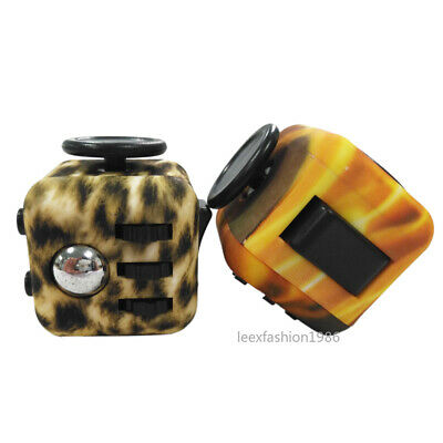 Fidget Cube Desk Toy Anti Stress Reliever Anxiety ADHD Relief Toys Adults Kid #7