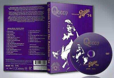 Queen – Live At The Rainbow '74 - Classic Rock  - Pal UK Region DVD NEW SEALED!
