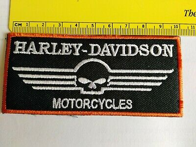 Toppa Patch Ecusson Abzeichen Moto Harley Davidson  Motorcycle Thermoaderente