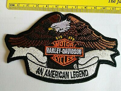 Toppa Patch Ecusson Abzeichen Eagle Harley Davidson  Aquila Adler Thermoaderente