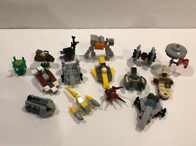 15 Lego Star Wars Micro Build Ships And Vehicles Lot From Advent