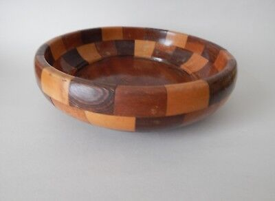Solid Wood Cambridge Wear Fruit Bowl