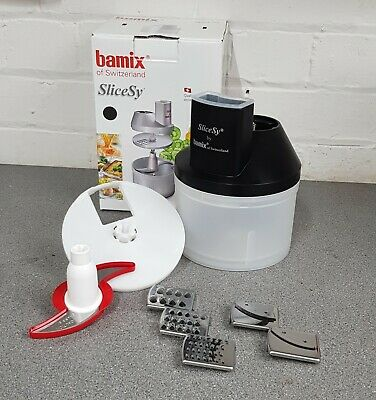 Bamix Slicsy Complete Set BLACK - Includes all 6 Blade Attachments
