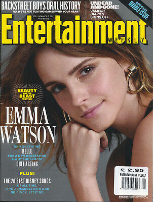 Entertainment Weekly Magazine February 24th March 3rd 2017 Emma Watson