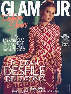 Glamour Spain Fashion Shows September 2016 Alisa Nekrasova