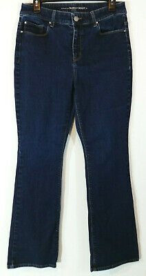 8cf229058ab Chico's Womens Jeans Size 0 Short Barely Boot Cut Dark Wash Stretch The  Platinum