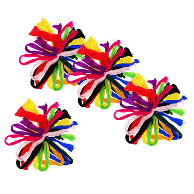 40Pcs Silk Flowers Home Decoration DIY Nylon Stocking Nylon Material Flowers