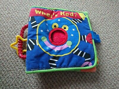Manhattan Toy Whoozit Soft Cloth Activity Book