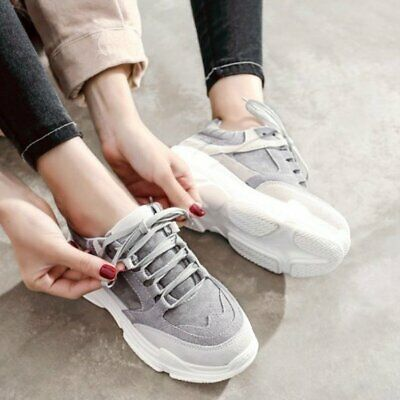 2019 Spring Fall Women's Sports Leisure Korean Version Breathable Sneakers Shoes