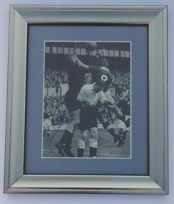 BILL NICHOLSON TED DITCHBURN TOTTENHAM HOTSPUR 12 x 10 FRAMED SIGNED PICTURE