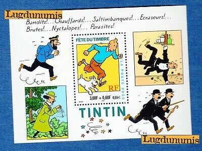 France Bloc N°28 Fete du Timbre Tintin 2000 Neuf Luxe