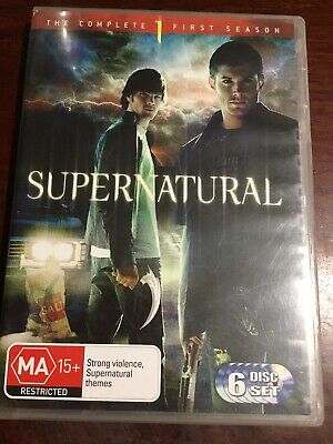 SUPERNATURAL The Complete First Season Good Condition 6 DVDs R4 PAL