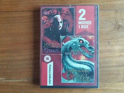 Mortal Combat Conquest Final battle & Quanchi DVD New and Sealed