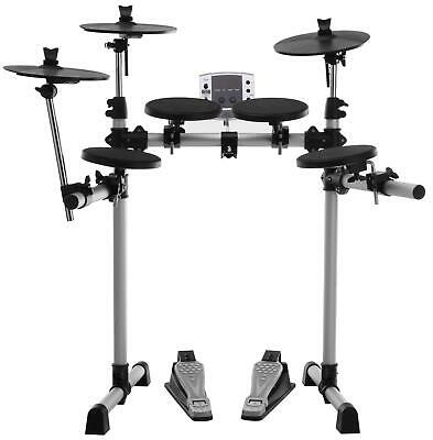 B-Ware E-Drum Set Schlagzeug Drum Kit Elektro Drums Becken Fußmaschine Usb Midi