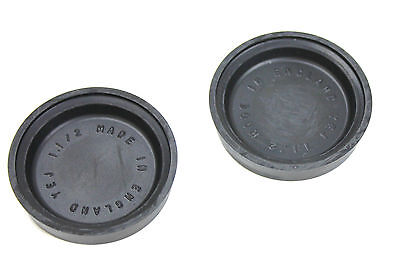 """A Pair Of Uk Made Brake Wheel Cylinder Cup Seals 1 1/2"""" Bore Size"""