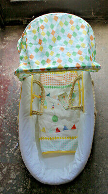 Mothercare Roll Up Roll Up Moses Basket
