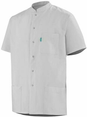 Mens White Workwear Tunic Healthcare Catering Chefs Kitchen Painter Decorator