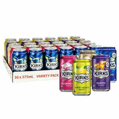 Kirks Variety Soft Drink Multipack Cans (PACK OF 30 x 375mL)