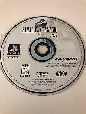 FINAL FANTASY VIII 8 - PlayStation 1 PS1 Video Game Complete