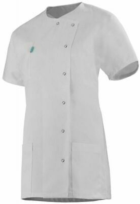 Womens White Workwear Tunic Healthcare Catering Chefs Kitchen Painter Decorator