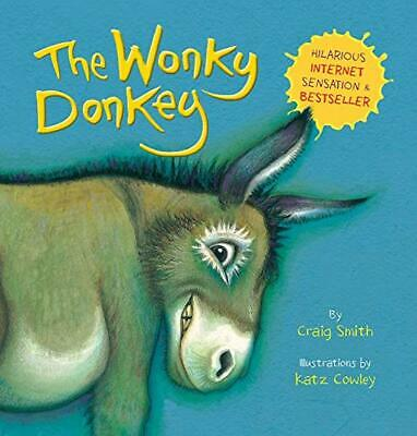 The Wonky Donkey No.1 Bestseller by Craig Smith New Paperback Wonkey Donky Book