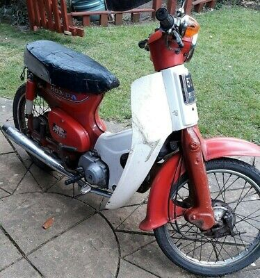 1983 Honda C50 Semi Automatic Stepthrough Mot A reg Crunchie Project Restoration