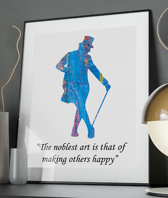 Greatest Showman Inspirational Quote Poster Art Print A6-A0 Music Gift Wall Love