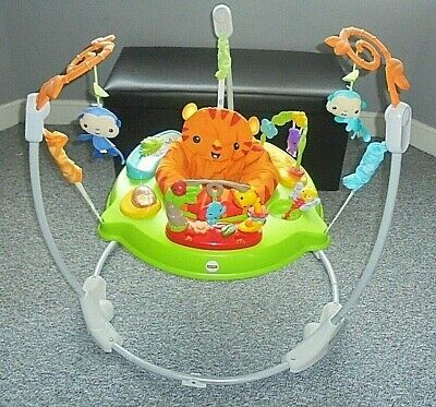 Fisher Price Roaring Rainforest Jumperoo / Baby Bouncer Play Gym