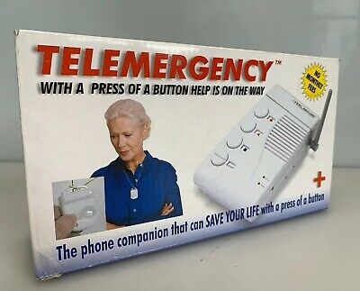 Telemergency Pro Elite Emergency Alert System w/ Help Pendant Model 700C