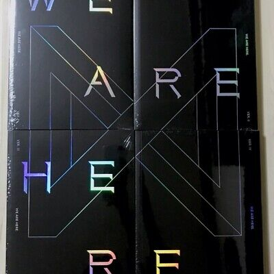 Monsta X 2nd Album We Are Here Ver choice set Sealed