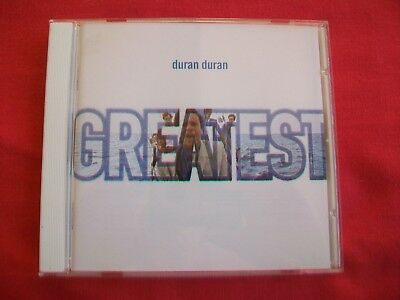 Duran Duran - Greatest - 19 Track Cd - 1998 - Great Condition