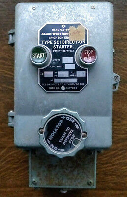 Allen West Direct On Starter 3 phase never used