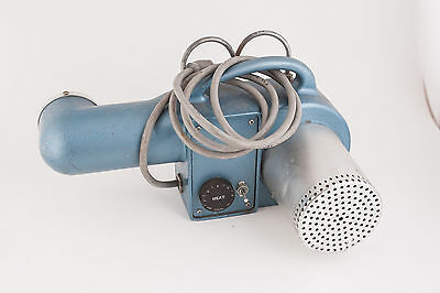 Mid Century Electric Heater Vintage Cast Aluminum Blower w/Hangers Retro Nifty